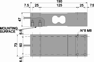 Spbc-dis Off center- SPBC: Loadcell đơn Cảm biến tải DiniArgeo